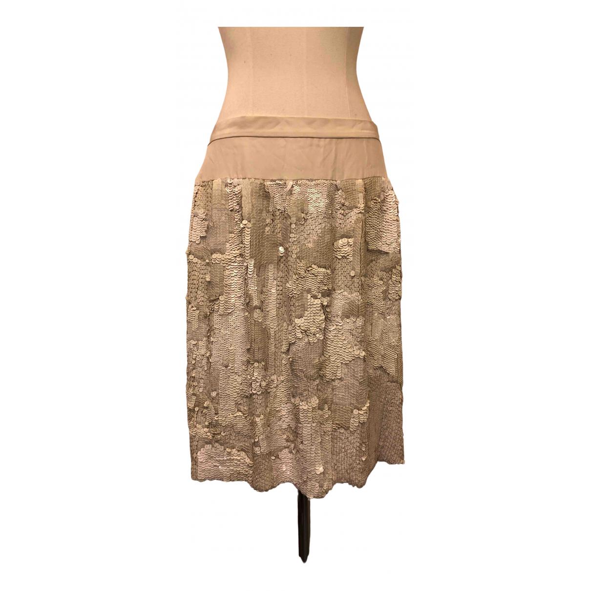 Dries Van Noten - Jupe   pour femme en soie - blanc