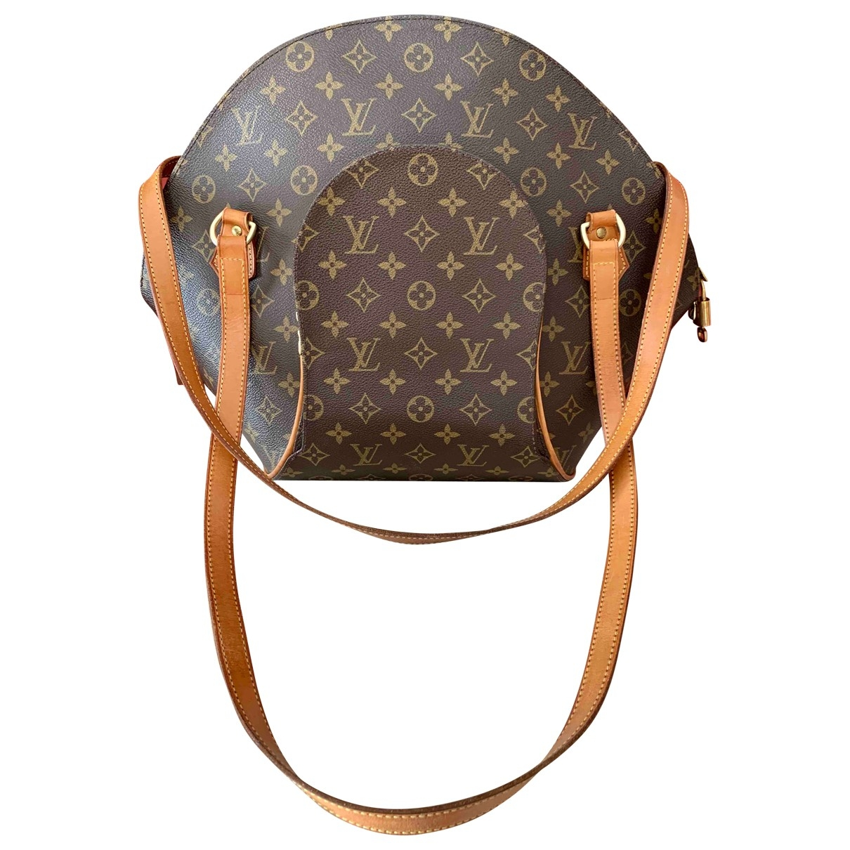 Louis Vuitton Ellipse Brown Cloth handbag for Women \N