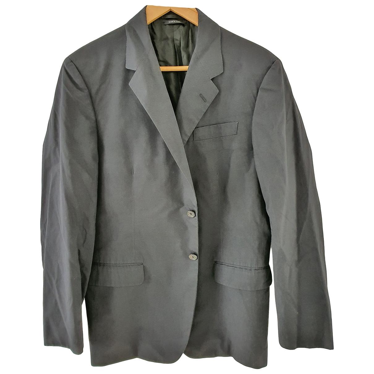 Prada \N Black Cotton jacket  for Men 50 IT
