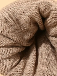 Knit Cuff Beanie