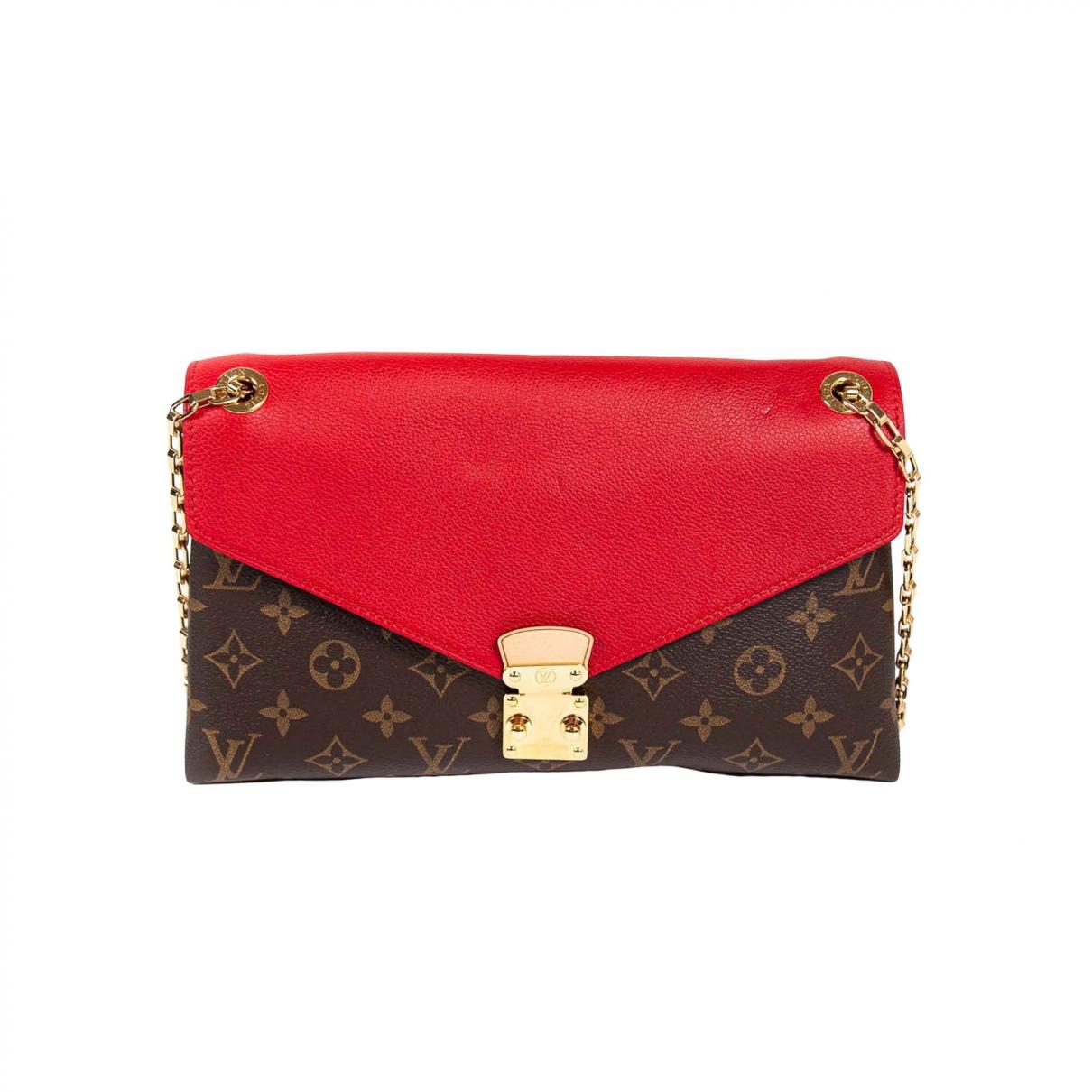 Louis Vuitton Pallas Brown Leather handbag for Women \N