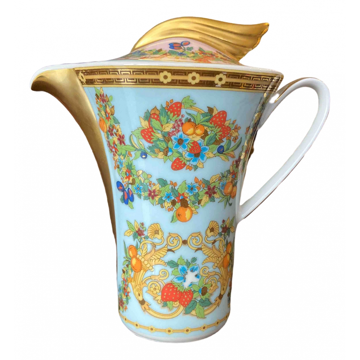 Cafetera de Porcelana Versace