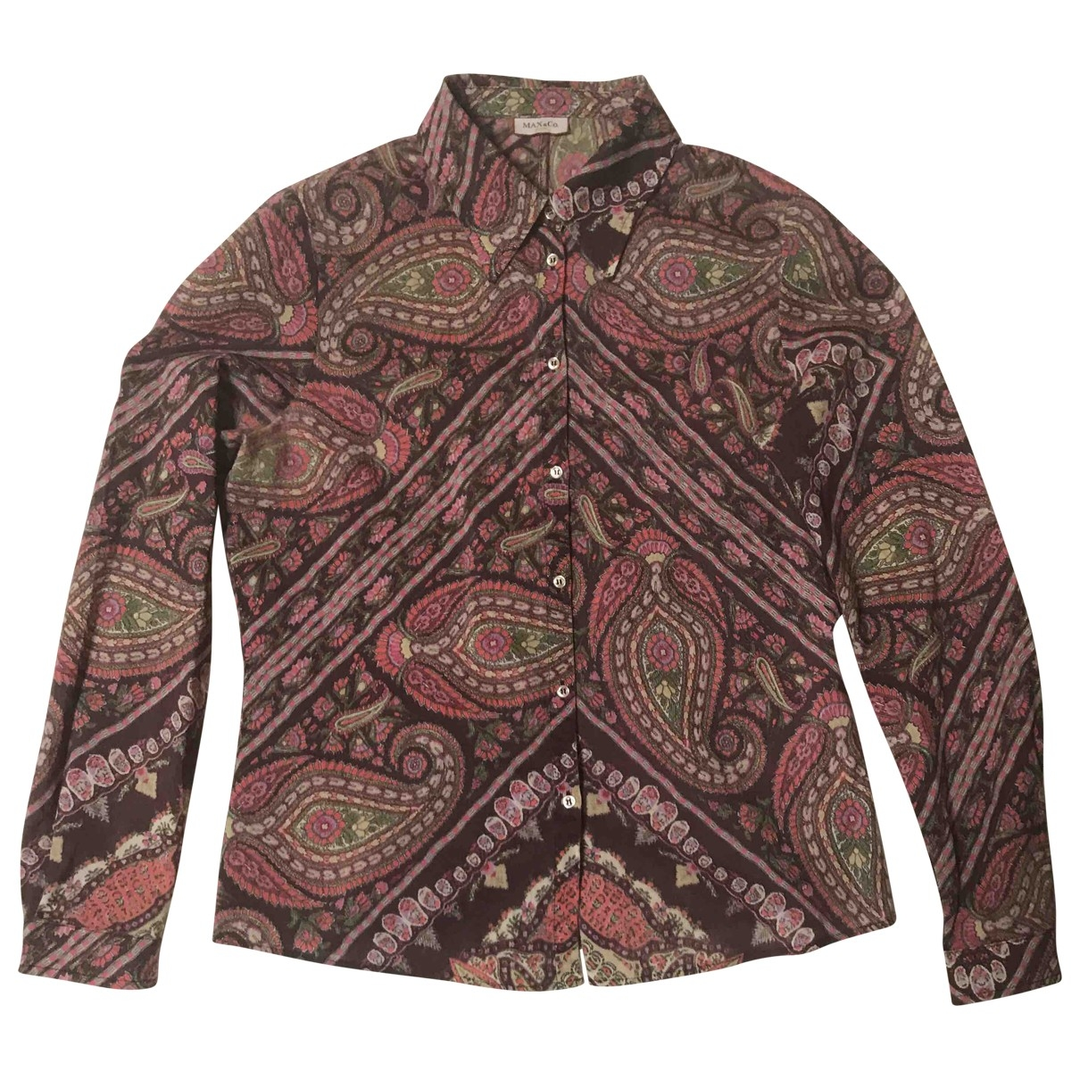 Max & Co \N Multicolour Wool  top for Women 42 IT
