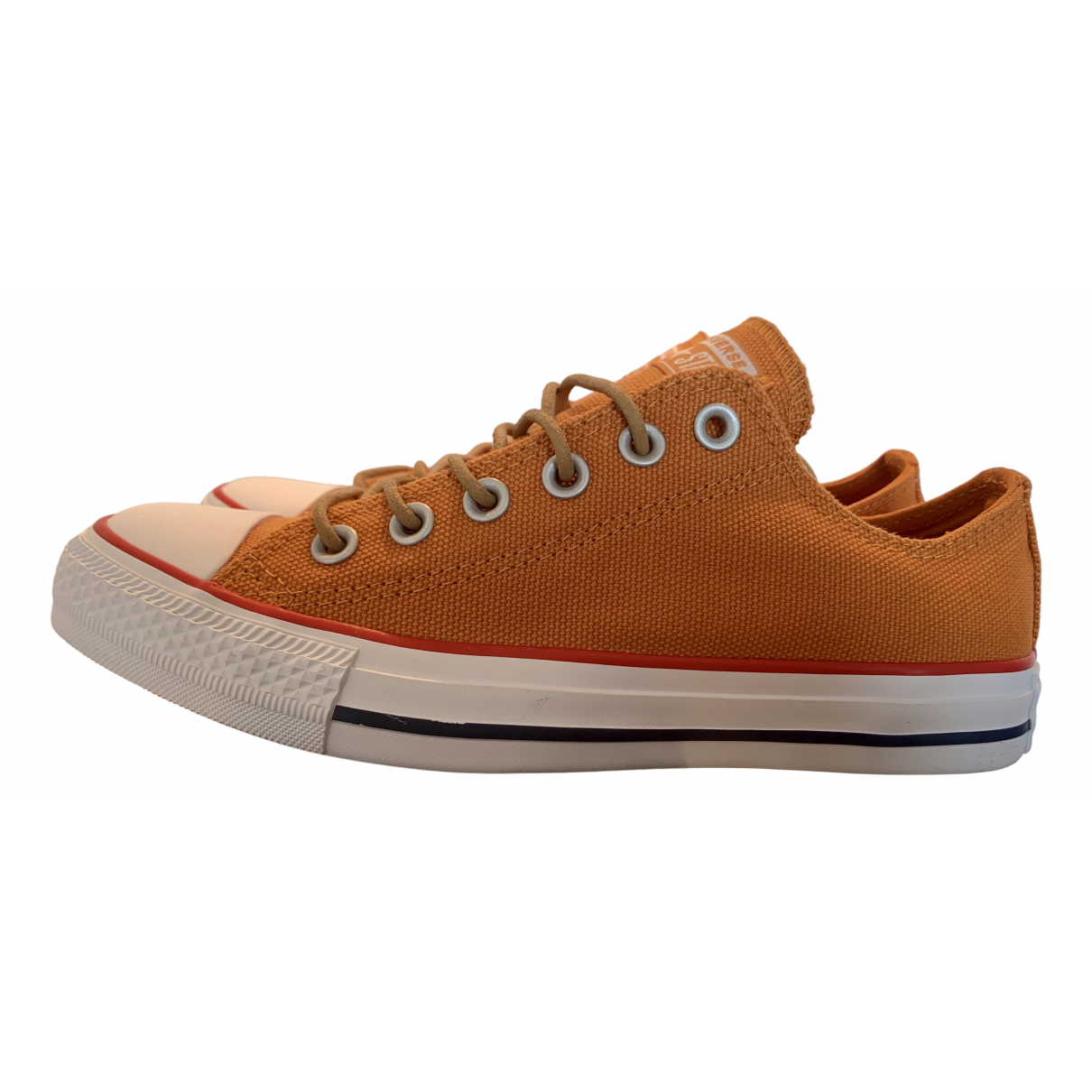 Converse \N Sneakers in  Orange Leinen