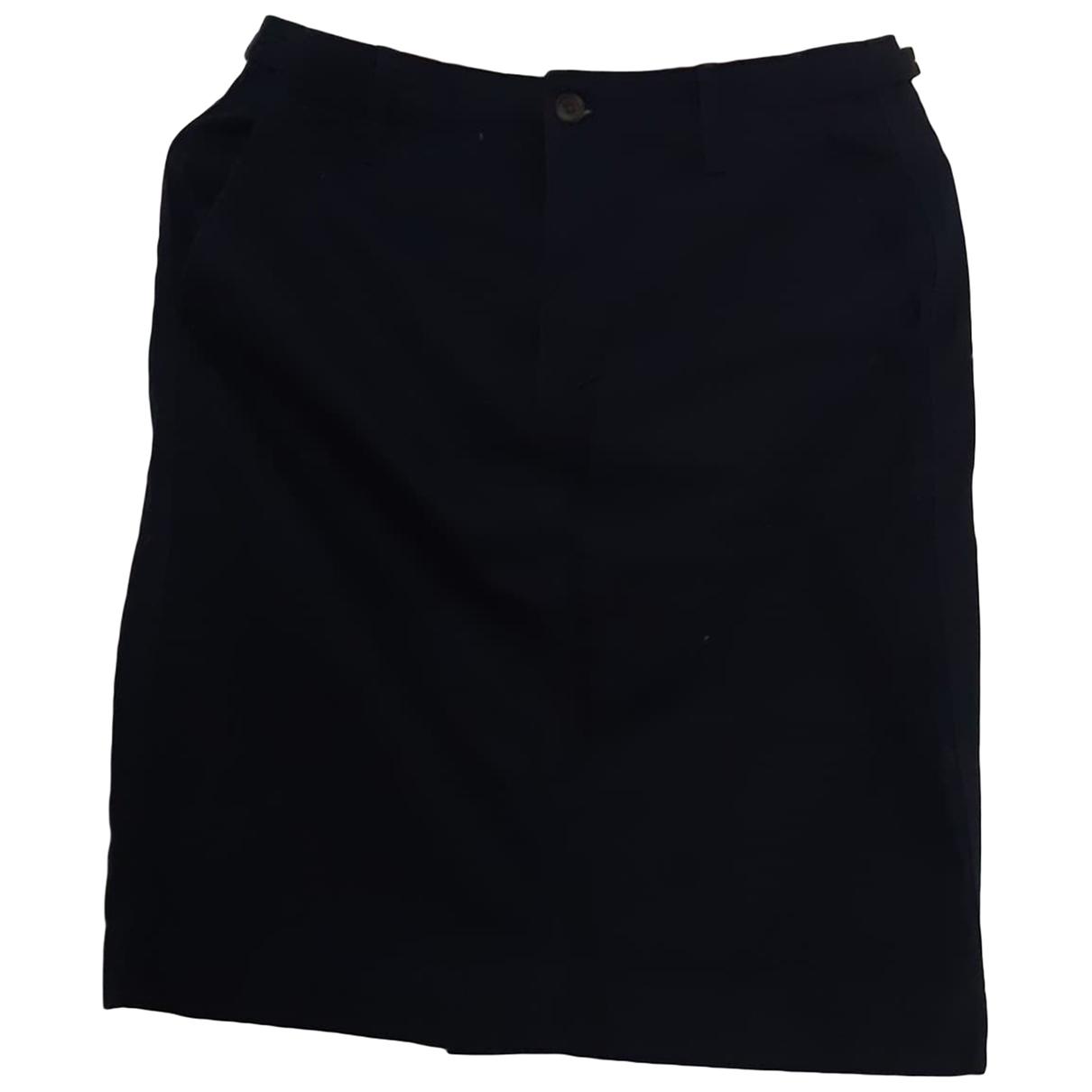 Uniqlo \N Blue Cotton skirt for Women 40 FR