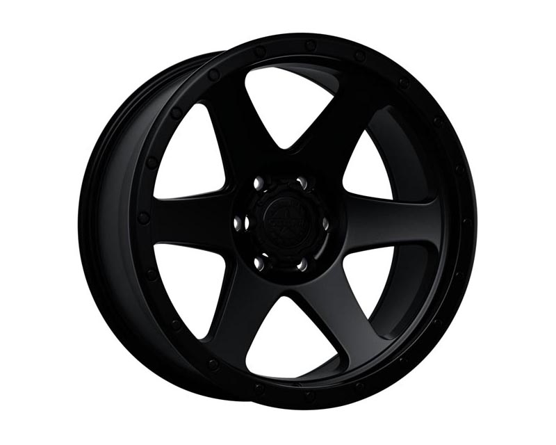 American Outlaw Sidewinder Wheel 20x9 6x139.70x10 BKMTBL Matte Black