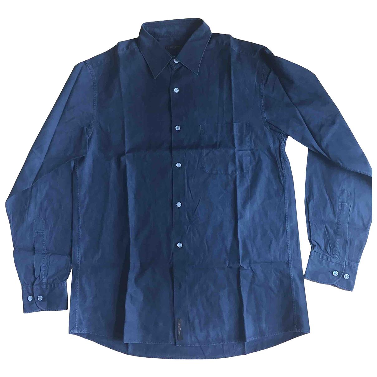 Louis Vuitton \N Black Cotton Shirts for Men M International