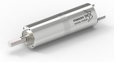 Maxon , 24 V dc, 3.3 Nm, 3.8 Nm, Brushed DC Geared Motor, Output Speed 97 rpm