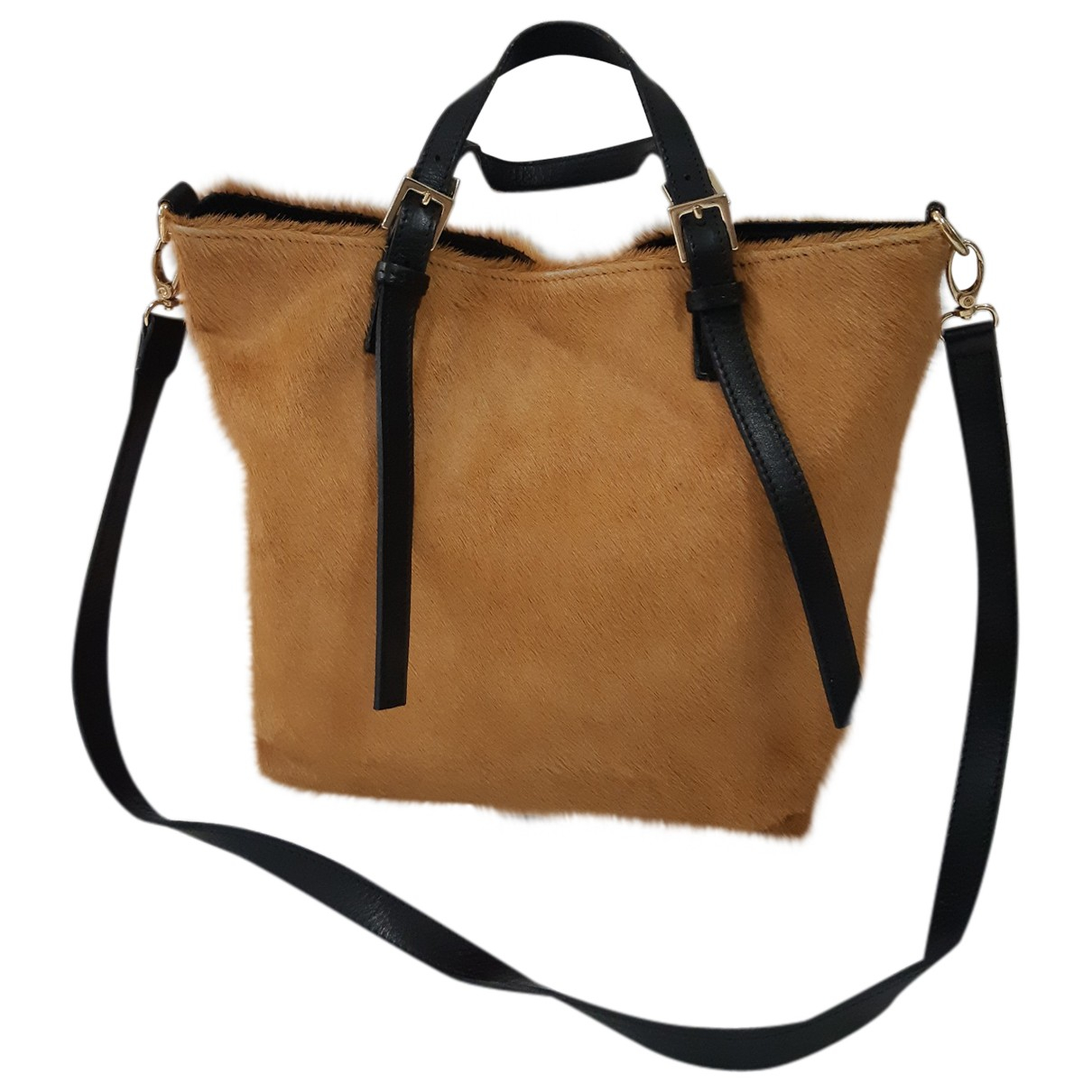 Non Signe / Unsigned \N Handtasche in Fell