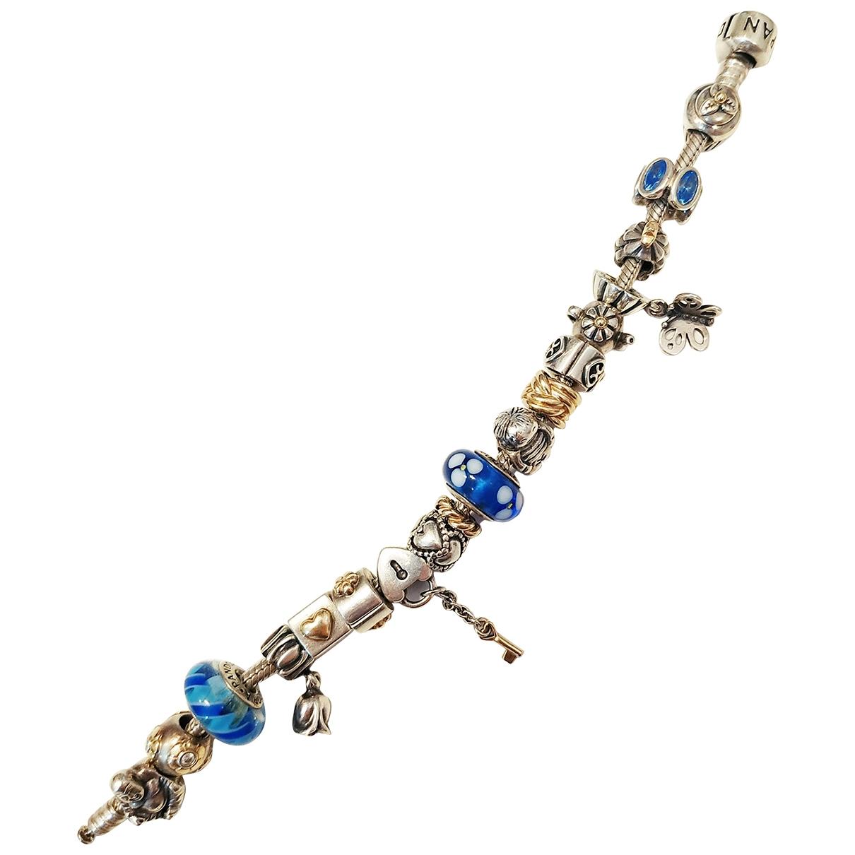 Pandora - Bracelet   pour femme en or jaune - marine