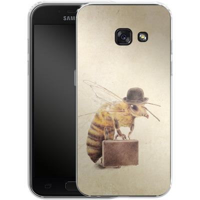 Samsung Galaxy A3 (2017) Silikon Handyhuelle - Worker Bee von Eric Fan