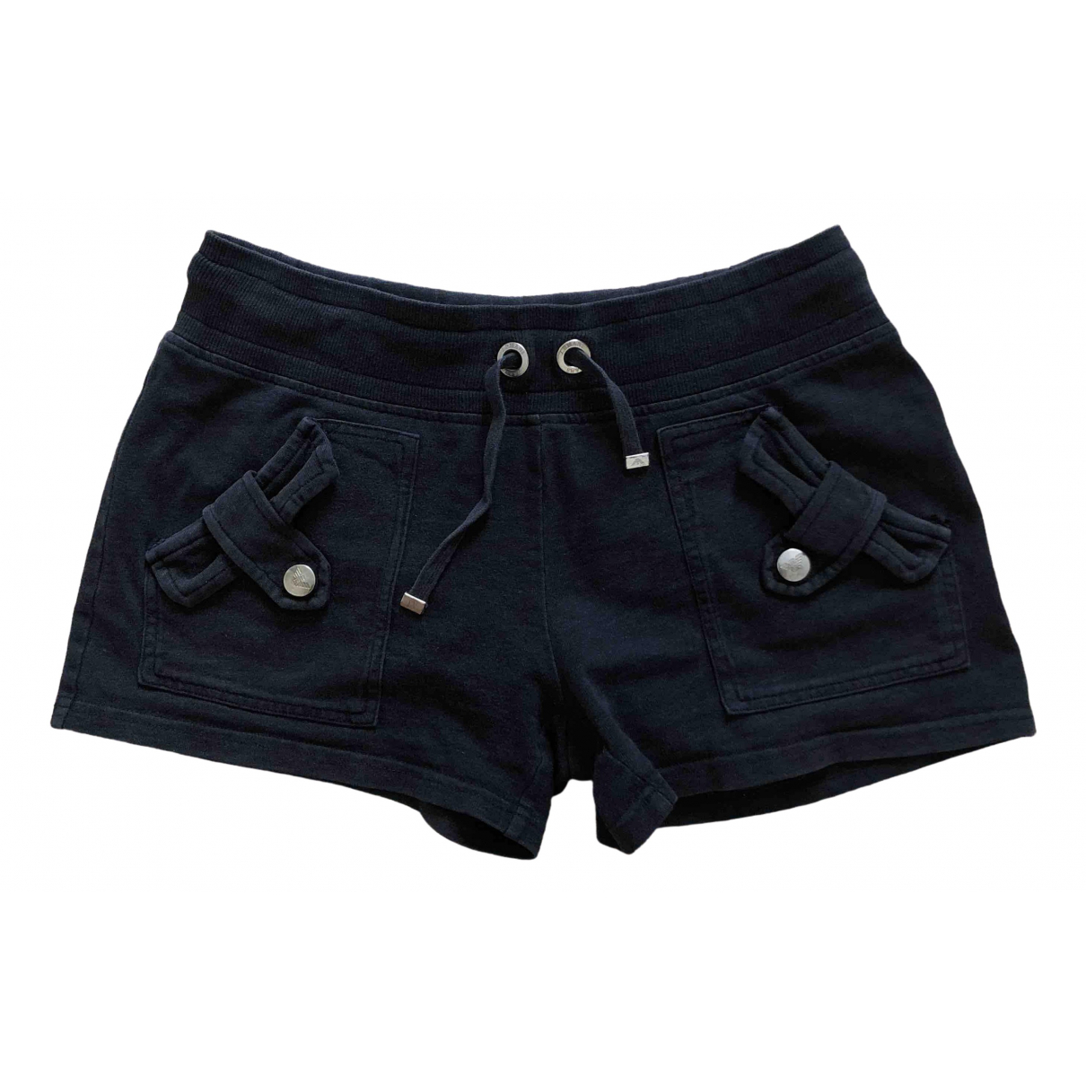 Armani Jeans \N Shorts in  Anthrazit Baumwolle