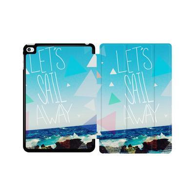 Apple iPad mini 4 Tablet Smart Case - Lets Sail Away von Leah Flores