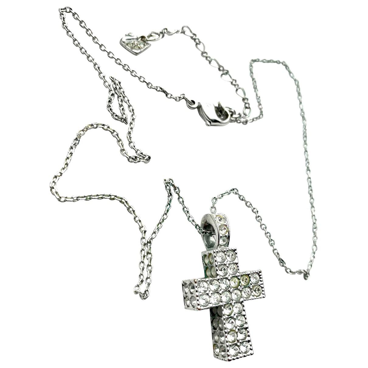 Swarovski - Collier   pour femme en metal - argente