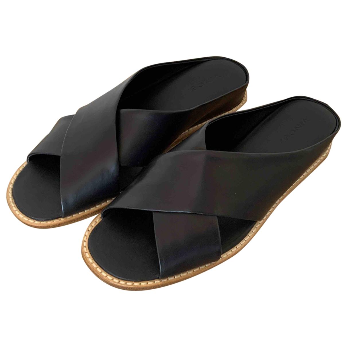 Sandalias romanas de Cuero Vince