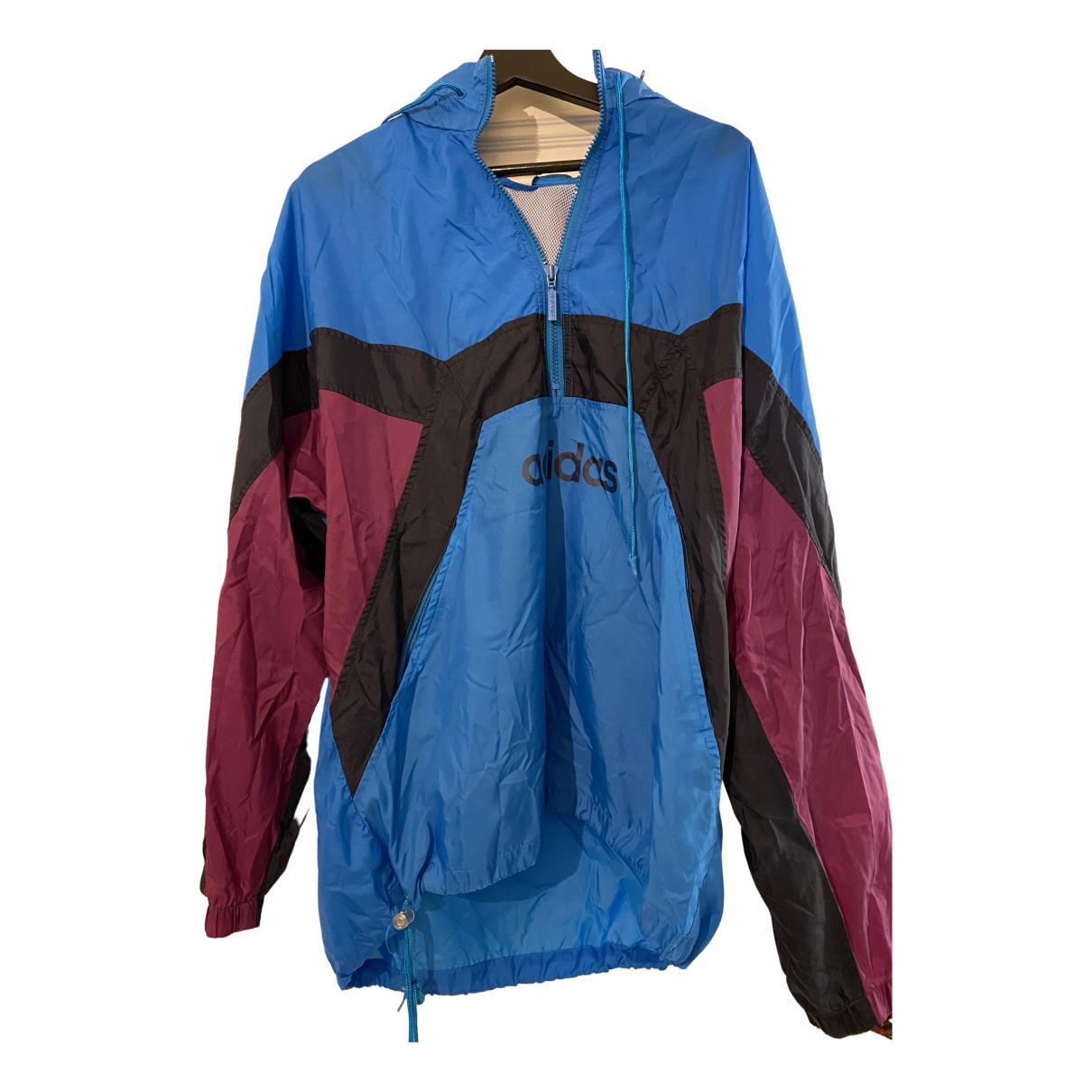 Adidas - Vestes.Blousons   pour homme - bleu