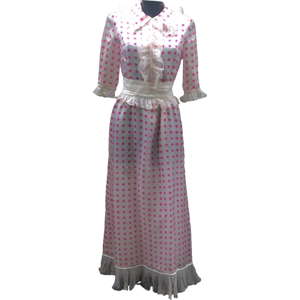 Roberto Capucci \N Kleid in  Rosa Seide