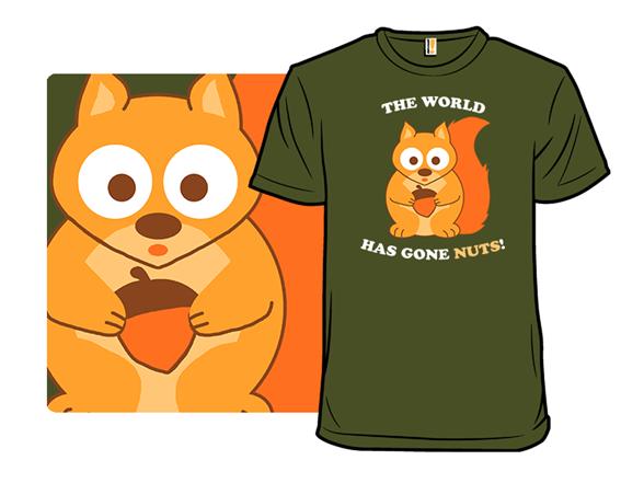 Perceptive Squirrel T Shirt