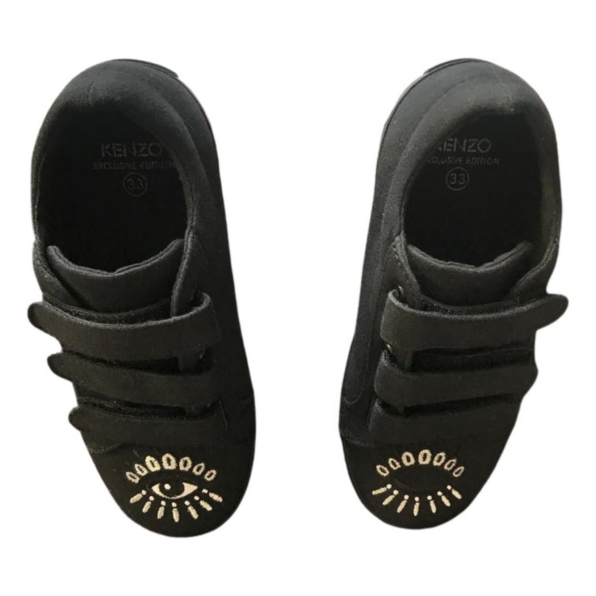 Kenzo \N Sneakers in  Schwarz Leinen