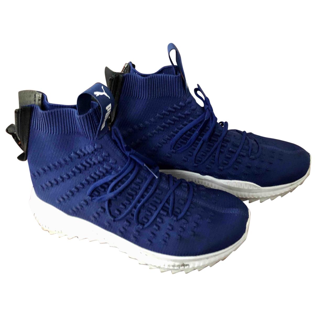 Puma - Baskets   pour homme en autre - bleu
