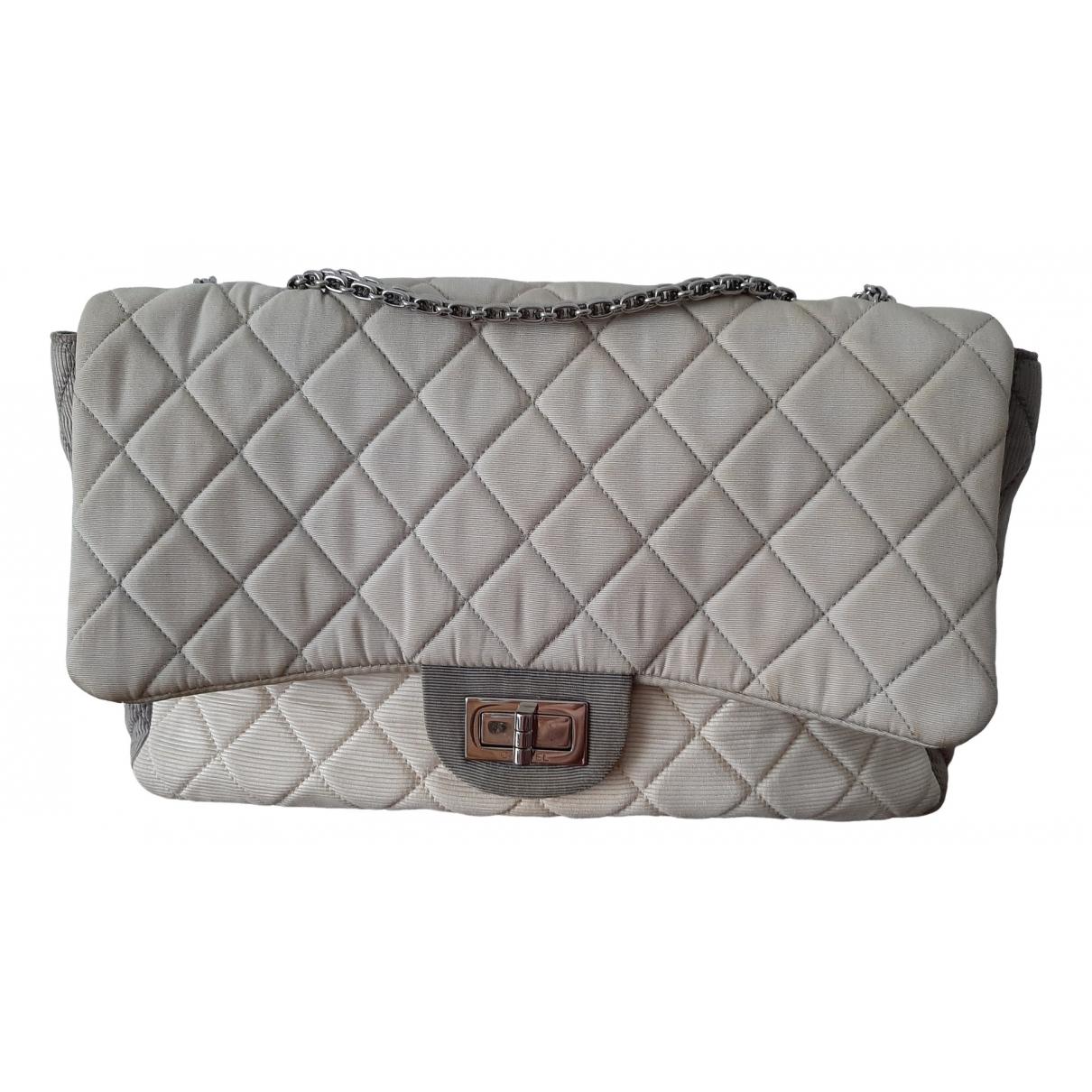Chanel 2.55 Grey Cloth handbag for Women \N