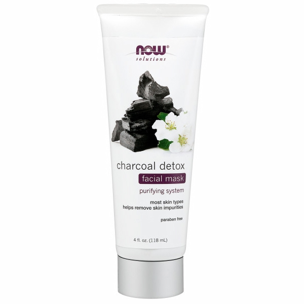 Charcoal Detox Facial Mask 4 Oz by Now Foods