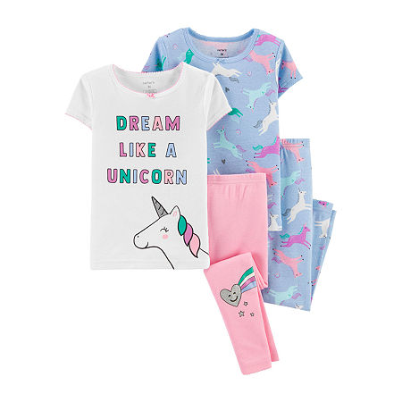 Carter's Baby Girls Pajama Set, 24 Months , Multiple Colors