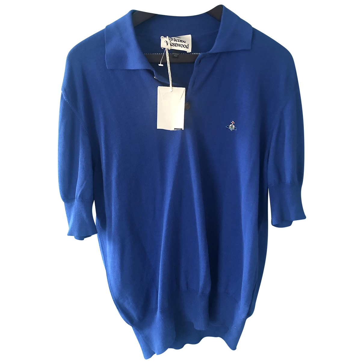 Vivienne Westwood - Polos   pour homme en coton - bleu