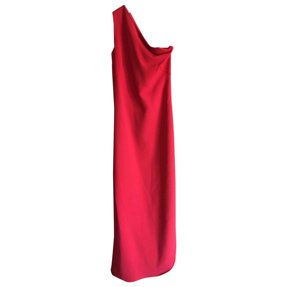 Osman London \N Kleid in  Rot Polyester