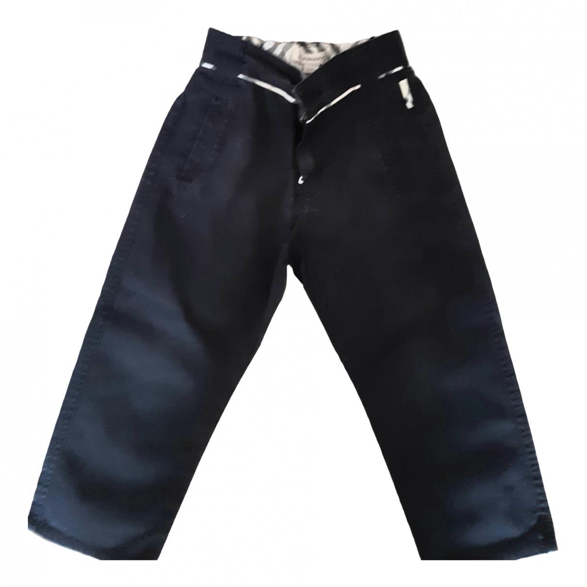 Burberry - Pantalon   pour enfant en coton - noir
