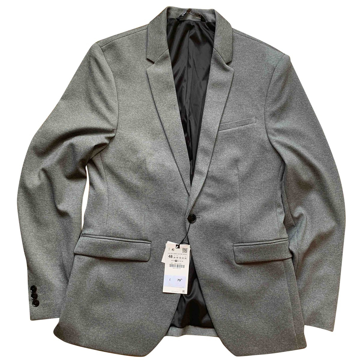 Zara N Grey Suits for Men 38 UK - US