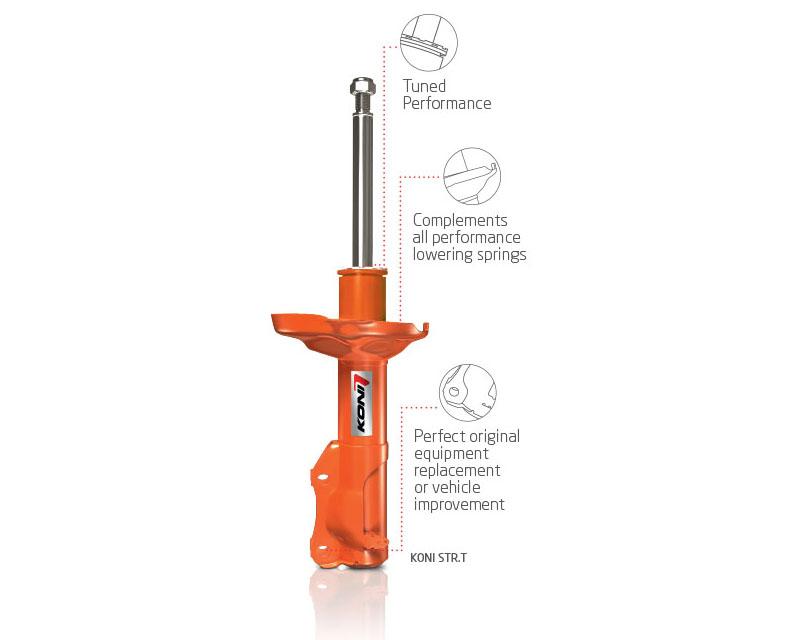 Koni STR.T (Orange) Shock 02-05 Dodge Ram 1500 4WD - Rear