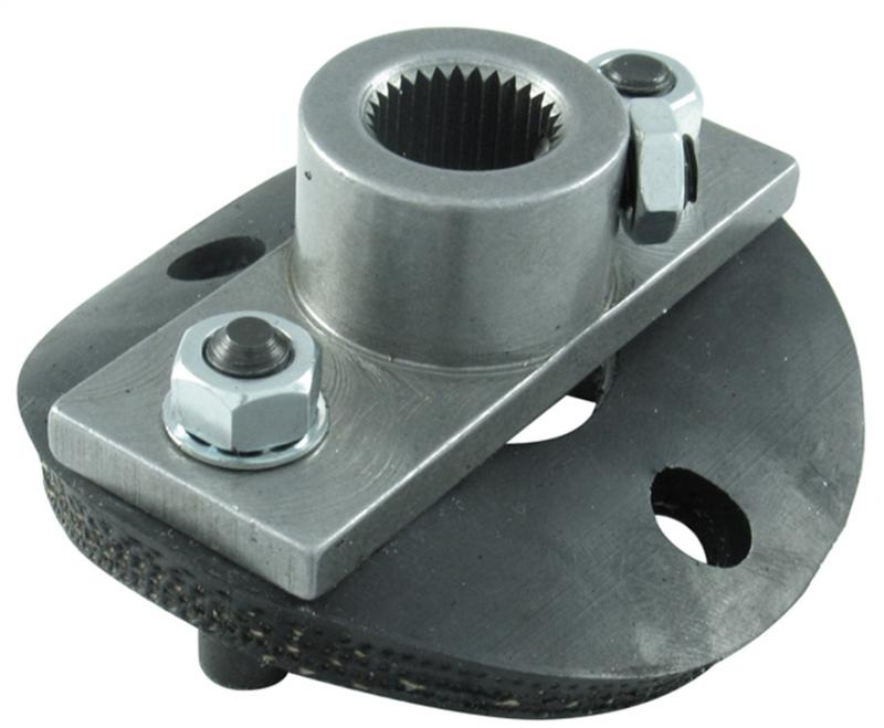 Borgeson 990016 Steering Coupler; 1/2 Rag Joint; Steering Box Side; 11/16-36 Spline; With Disc
