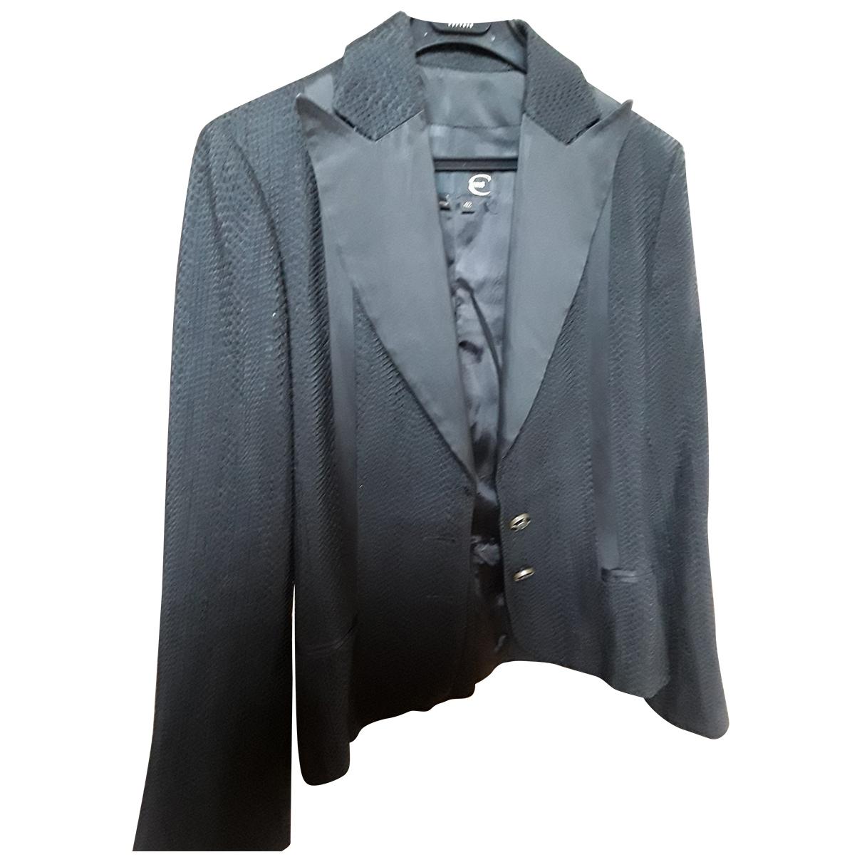 Roberto Cavalli - Veste   pour femme en laine - noir