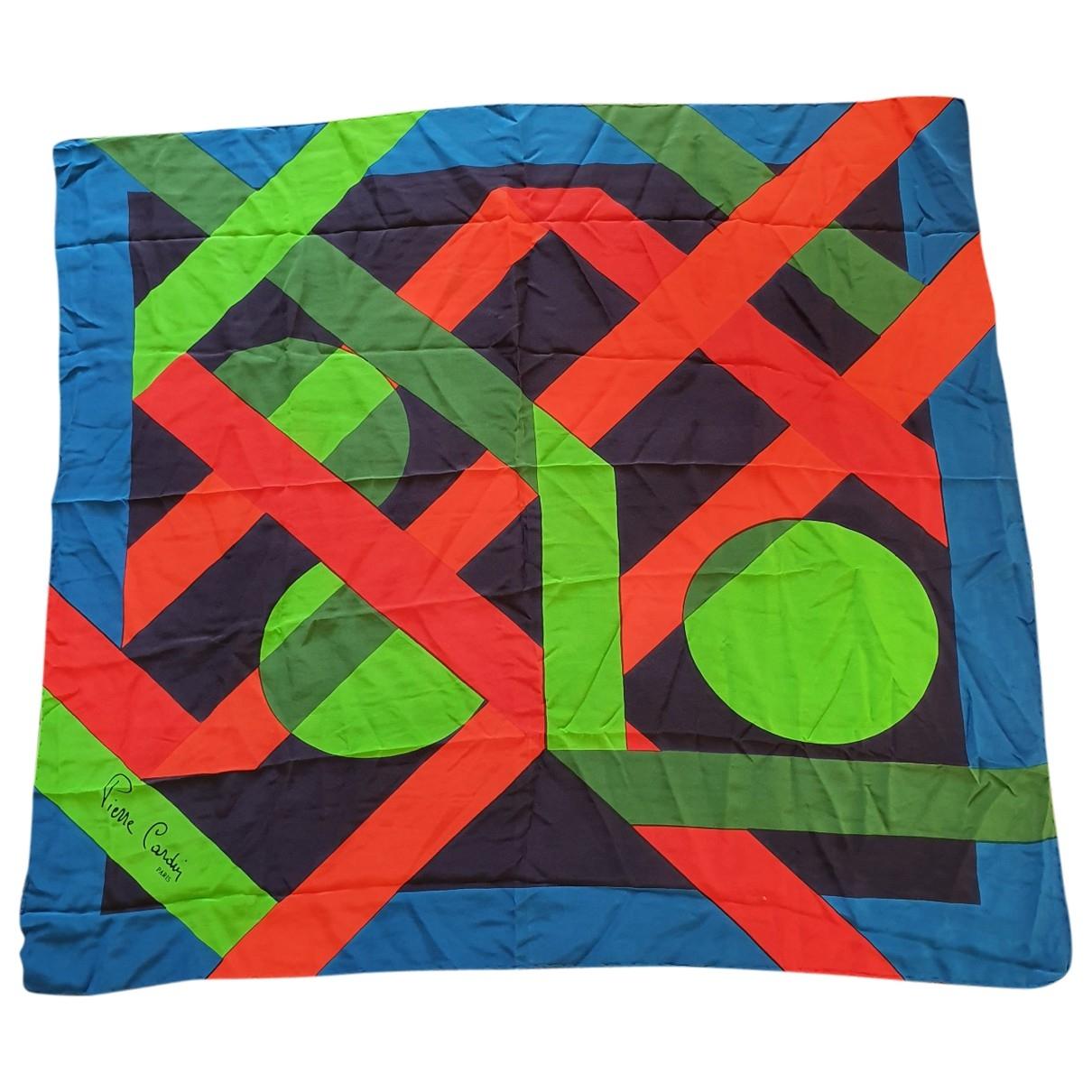 Pierre Cardin - Carre   pour femme en soie - multicolore