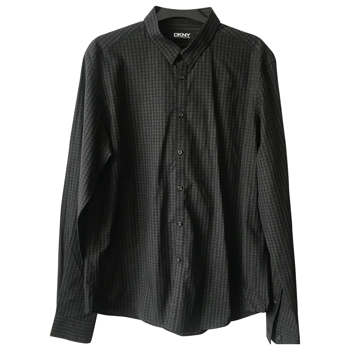 Dkny \N Hemden in  Schwarz Baumwolle
