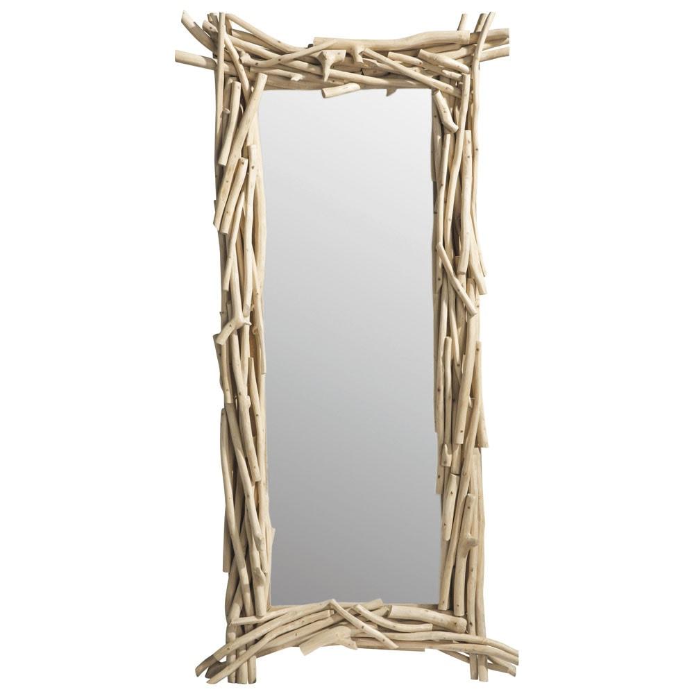 Spiegel aus Teak 153x75