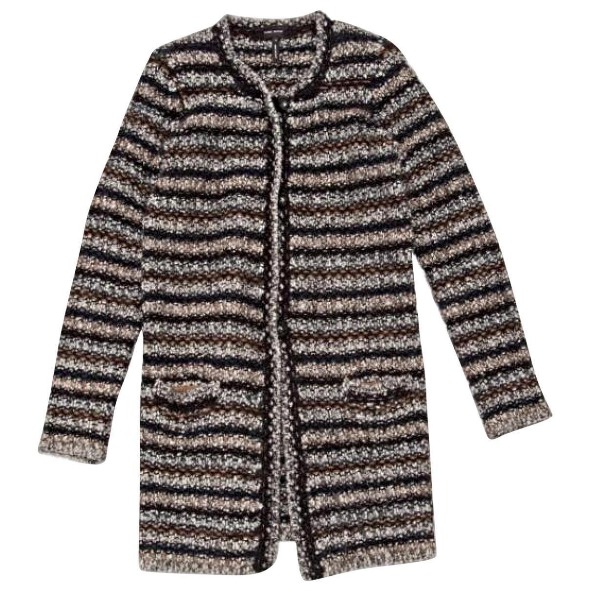 Isabel Marant - Manteau   pour femme en laine - multicolore