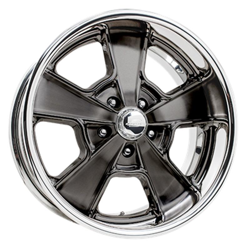 Billet Specialties VSL71S285Custom Knuckle Smoke Clear Coat 20x8.5 Wheel