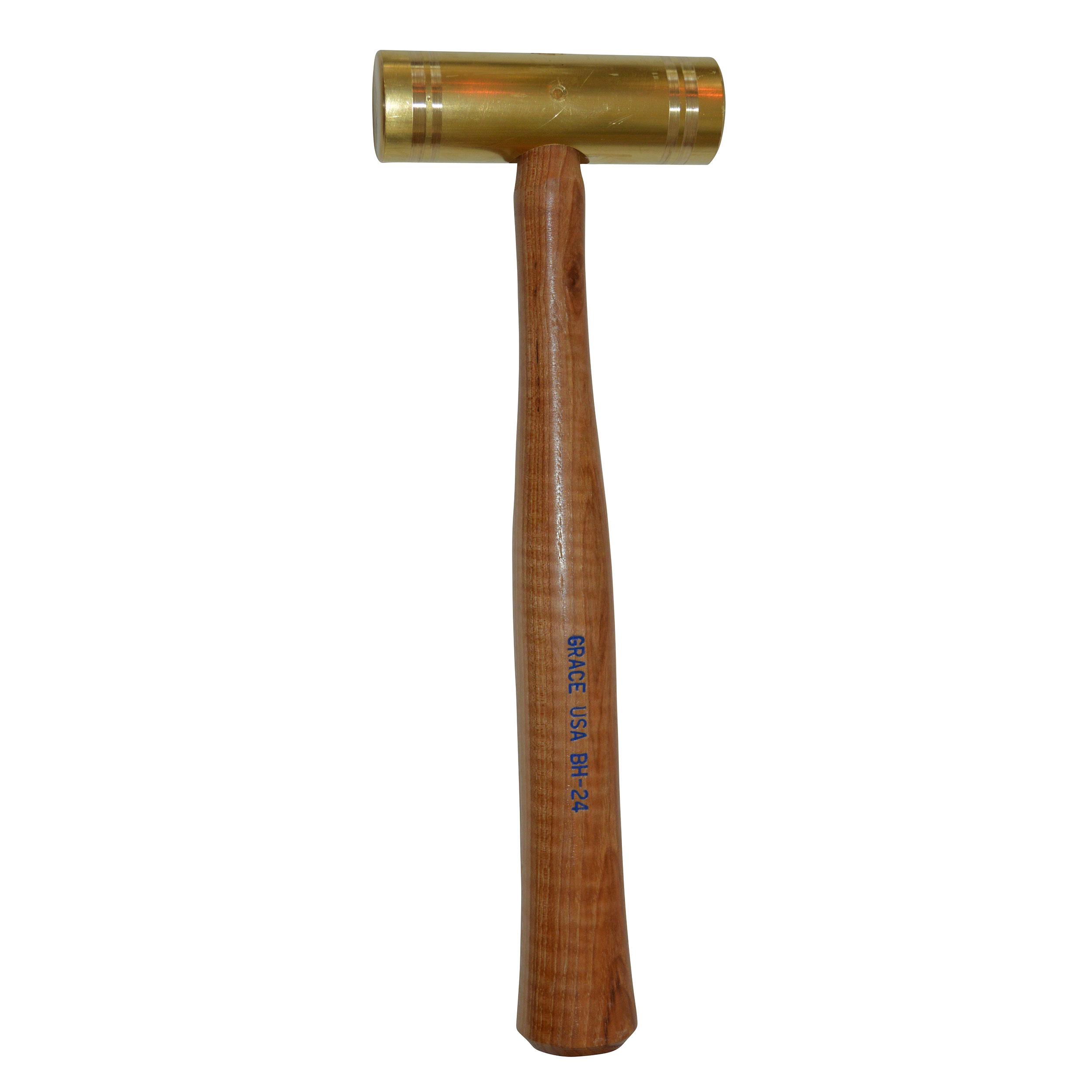 24 ounce Brass Hammer