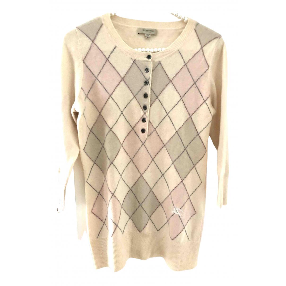 Burberry \N Pullover in  Rosa Kaschmir
