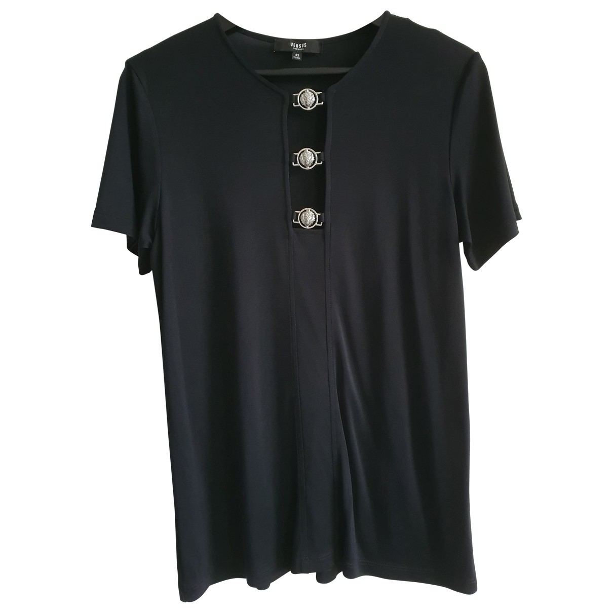 Versus \N Black  top for Women 42 IT