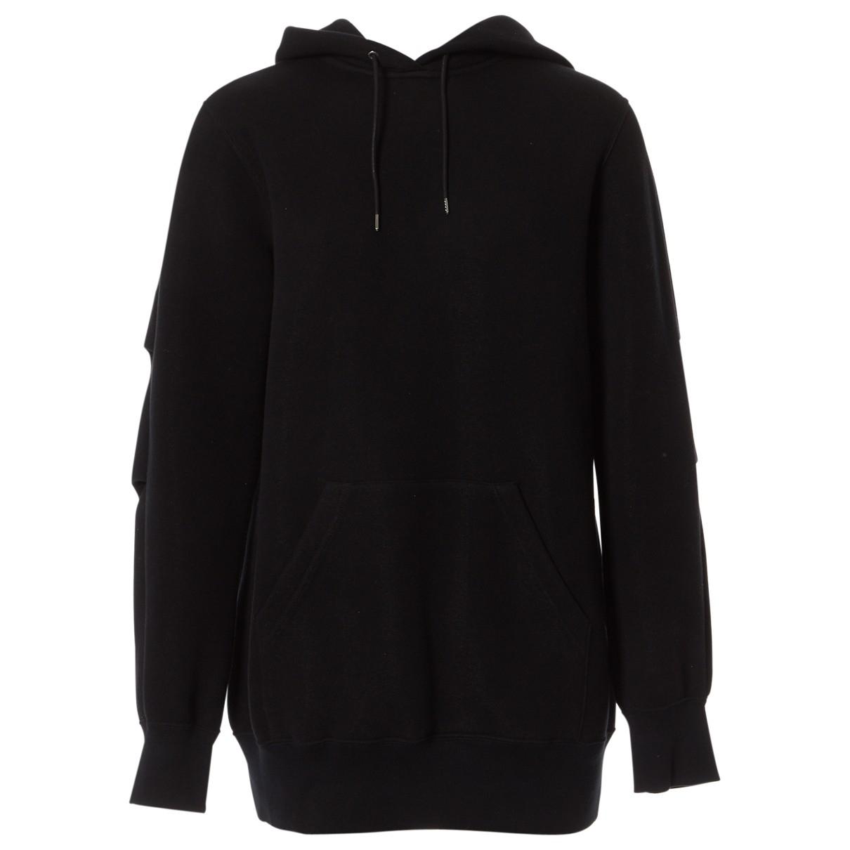 Sacai \N Pullover in  Schwarz Baumwolle