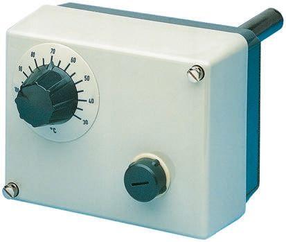 Jumo NO/NC 0.25 (dc) A, 10 (ac) A Capillary Thermostat