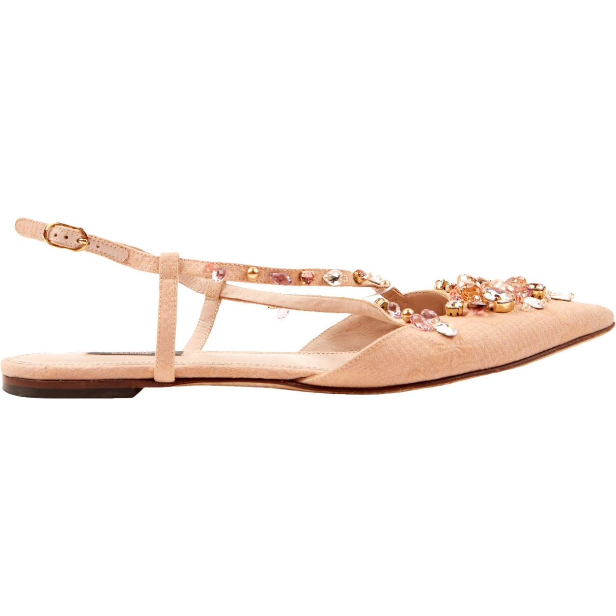 Dolce & Gabbana \N Pink Cloth Sandals for Women 40 EU