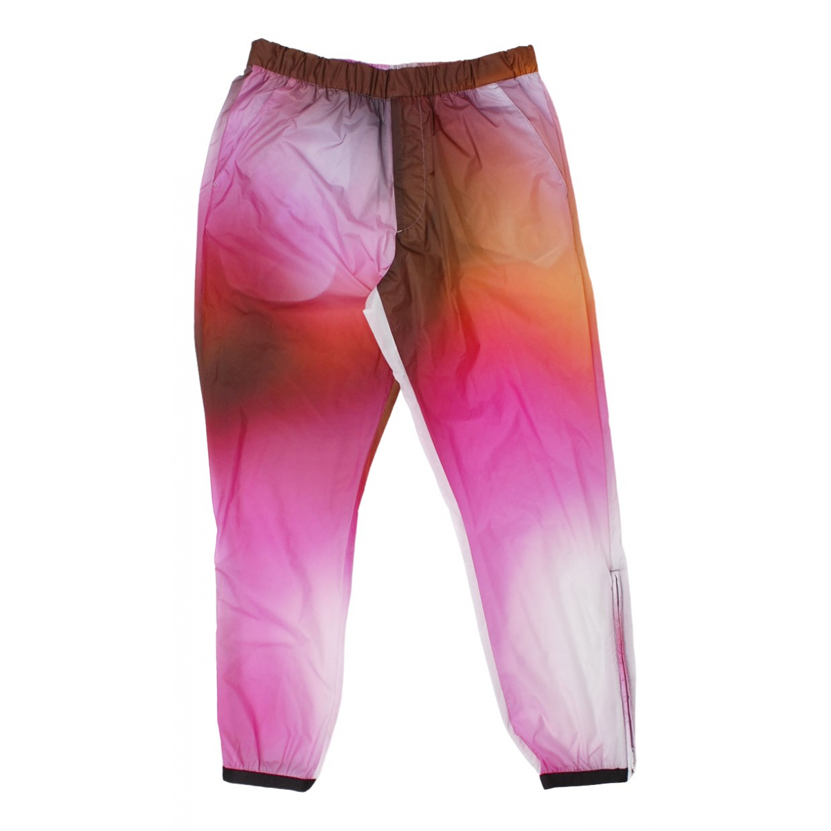 Pantalones en Sintetico Multicolor Prada