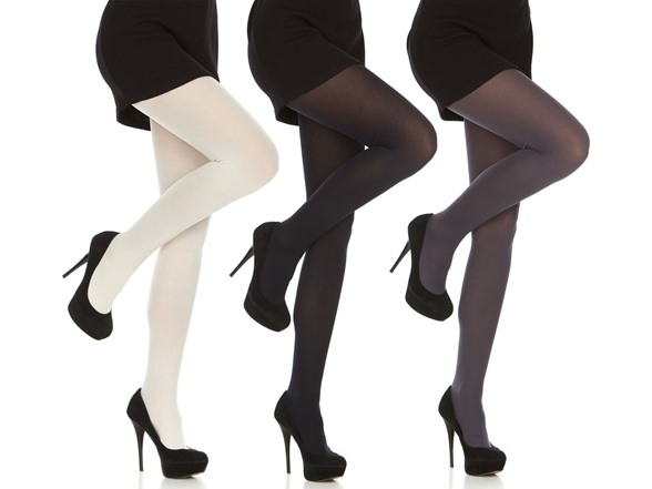 Daresay Women's Microfibre Tights 3-pack
