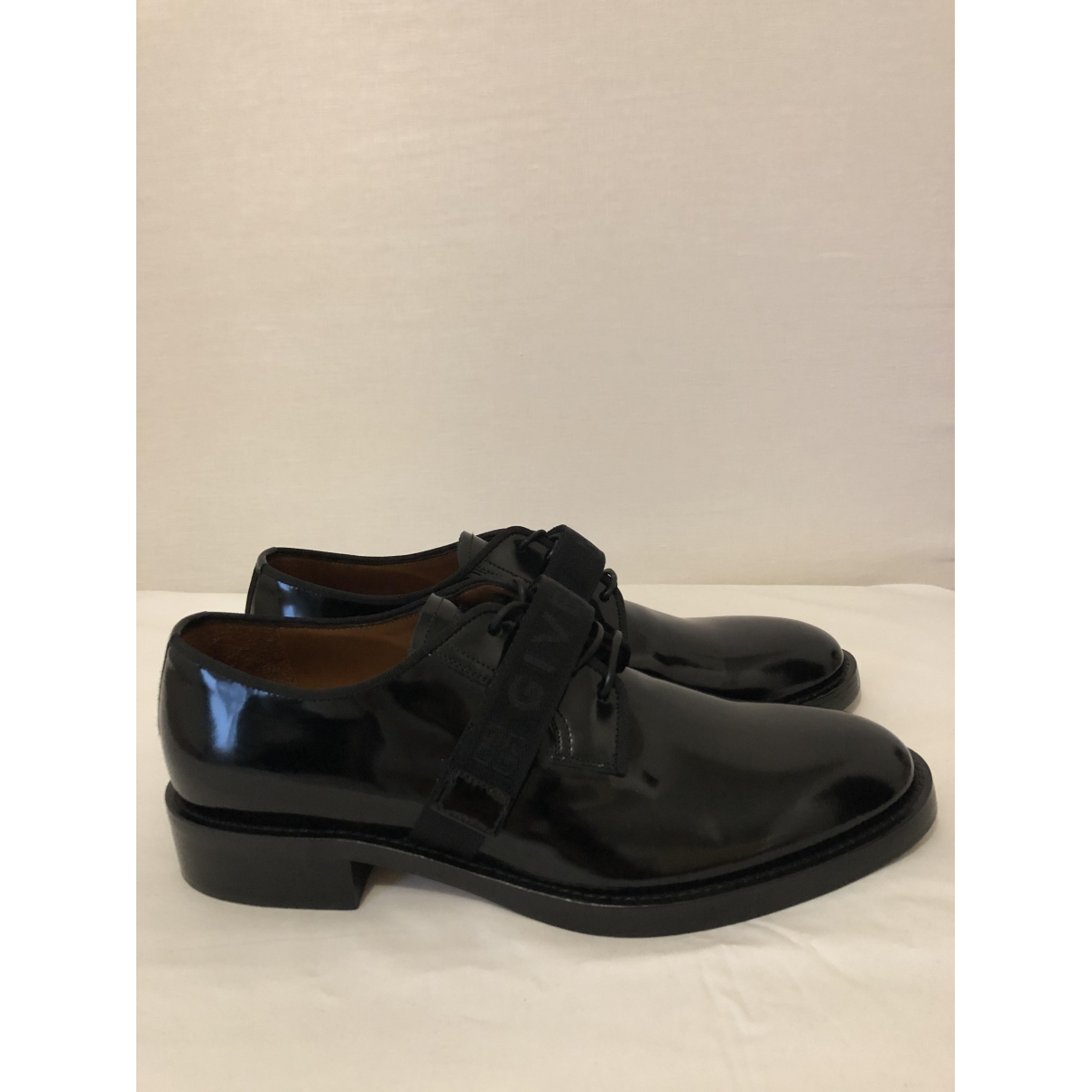 Givenchy \N Black Leather Lace ups for Men 44 EU