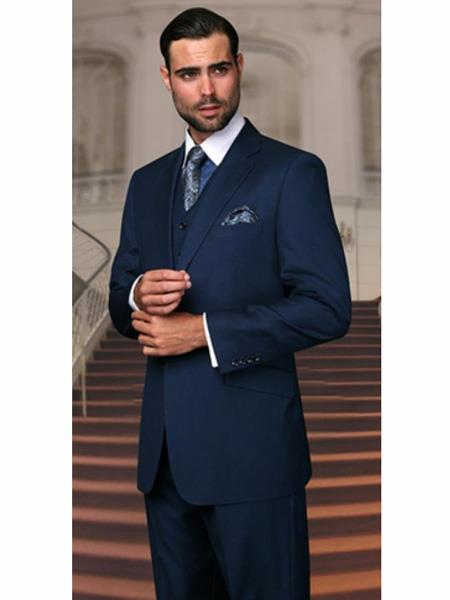 Cobalt ~ Indigo~ Teal Blue Light Navy Wool Fabric Any Size Jacket