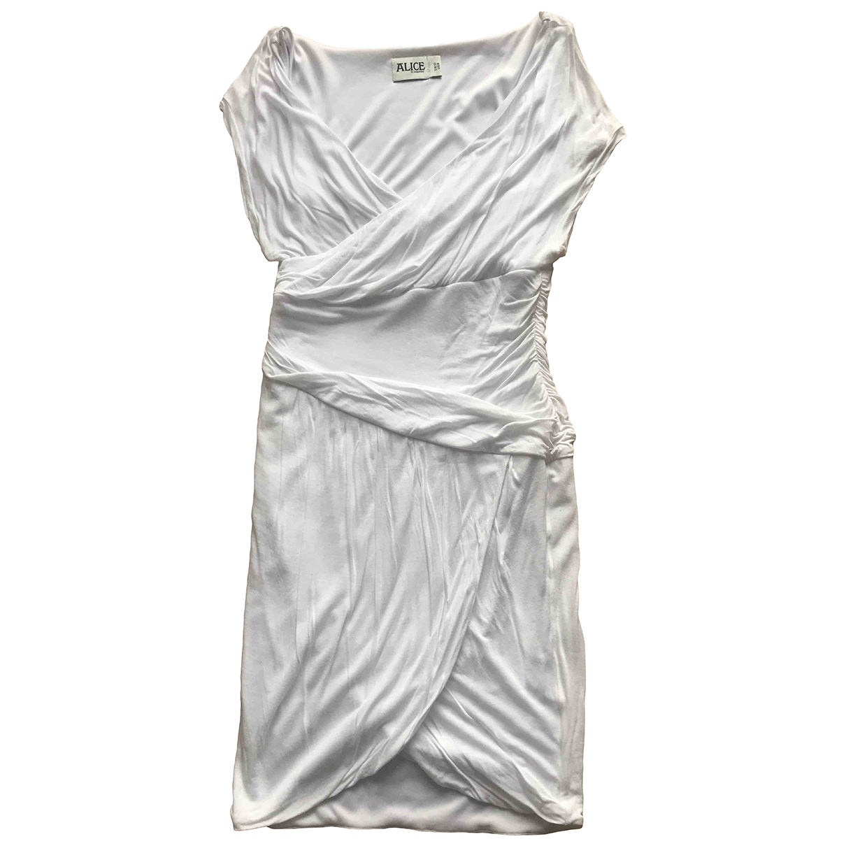 Alice By Temperley \N Kleid in  Weiss Polyester